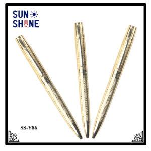 도매 Excutive 펜 로고는 선전용 금속 펜을 새긴다
