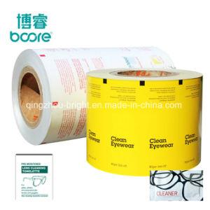 Mayorista Prcie 128g Bolsa de papel de aluminio para la almohadilla de yodo desinfectar las toallitas húmedas