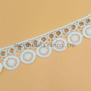 方法刺繍のレースアイレット衣類の織物のアクセサリの水溶性ファブリック