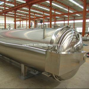 Stérilisateur automatique de l'Autoclave horizontal pour industrie alimentaire
