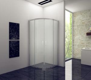Nuovo 2018 bicromati di potassio caldi di vendita/doccia bianca/nera del quadrato del portello scorrevole dell'alluminio 6mm (6Y1008) 800*800*1850mm
