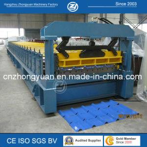 Perfil trapezoidal techado de metal frío enrolladora de hoja de empaquetado con precio de fábrica resistente al agua con la norma ISO9001/Ce/SG/Soncap