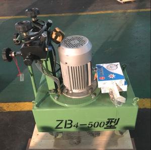 Zb Typen elektrische Hydraulikpumpen vorspannen für Steckfassungen mit dem Betätigen des Kolbens