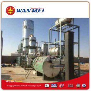 De Installatie van het Recycling van de olie met de Reeks van de VacuümDistillatie proces-Wmr-B