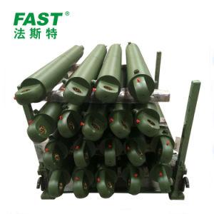軍装置のための単動水圧シリンダ