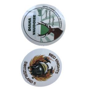 중국 공장 공급에 있는 PVC 스티커 종이를 인쇄하는 Eco 친절한 관례 - 사십시오 PVC 스티커 종이 (jp sticker003)를