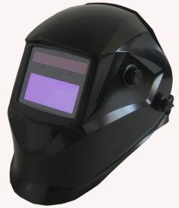 Черный CE EN379/EN175 сварки шлем (P1190TC)