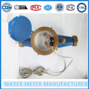 パルスごとの100リットルのパルス出力機構の水道メーター