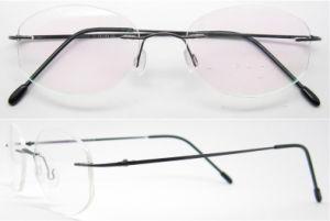 Eyewearのチタニウムの方法縁なしのチタニウムの接眼レンズフレーム