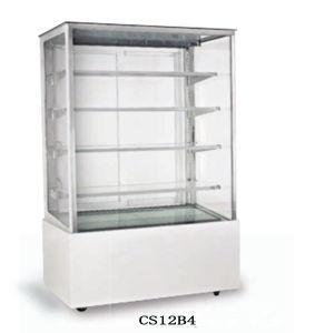 Bildschirmanzeige-Kuchen-Kühlvorrichtung für Kaffee-Pizza-Gebäck-Zwischenlage-Salat