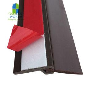 Puerta de madera Puertas interor juntas de caucho sello de la puerta de goma blanca