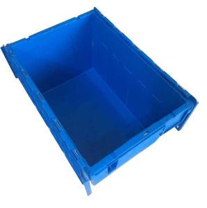 550X375X325mm Qualitäts-stapelbarer angebrachter Kappen-Behälter