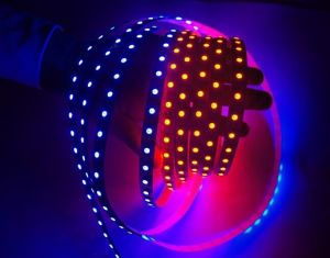 El Apa102 5050 WS2812 RGB LED Digital TIRA tira LED Digital Apa102 60LED, Ipixel efecto mágico