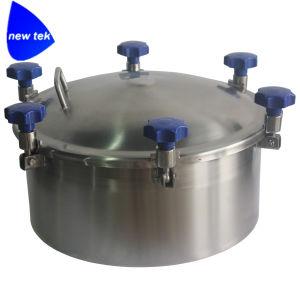 0.5 Druk van de Staaf om het dekking-Sanitaire Roestvrij staal 304/316L van het Mangat van de Tank