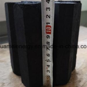 Carbone di legna diretto del barbecue del bordo della fabbrica - vendendo sette -, carbone di legna fatto a macchina