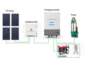 Moteur à courant continu de la pompe à eau solaire de la pompe à eau solaire