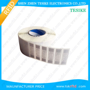 Funcionamiento de larga distancia de la etiqueta RFID UHF papel sintético térmica