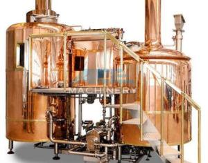 Fornecedor de ouro 700L hotel luxuoso de equipamento de cerveja Pub cobre o sistema de tomada de cerveja (ACE-THG-E2)