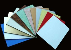 Revêtement de bois et aluminium utilisé PE des films de protection