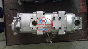 Le Japon 705-56-34040 de la pompe hydraulique à engrenages 705-56-34240 pour chargeur Komatsu Wa400-1