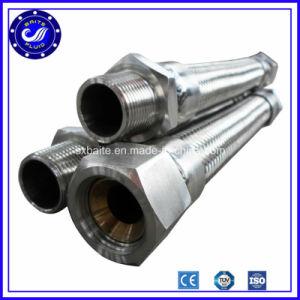 Tubo flessibile del metallo con il collegare Braided dell'acciaio inossidabile