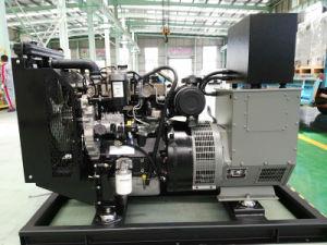 100kVA/80kw는 Perkins 엔진을%s 가진 유형 디젤 엔진 발전기 세트를 연다