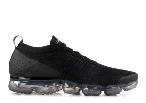 空気Vapormax Flyknit 2の靴の空気蒸気最大スニーカーの黒