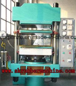 100t Pilar vulcanización de caucho tipo Press / Prensa Moldeado de caucho