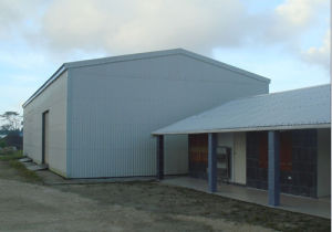 De geprefabriceerde Bouw van Carport van het Metaal (kXD-PH1126)