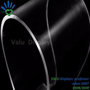 Supporto acrilico trasparente della cuffia avricolare della visualizzazione del basamento della cuffia
