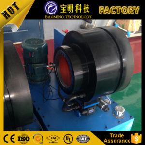 中国工場によって作り出される電池の圧着工具の油圧Hydhoseひだが付く機械