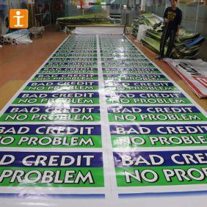 デジタル二重側面の印刷の旗を広告する紫外線証拠PVCビニール