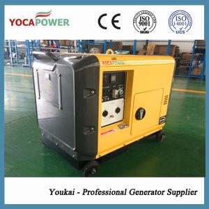 generatore diesel insonorizzato di potere elettrico di inizio 5kw