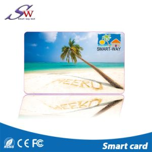 125kHz Tk4100駐車場のための印刷できるRFID PVCブランクカード