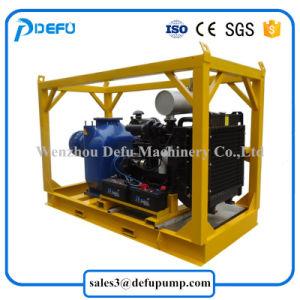 Tratamento de Resíduos de 8 polegadas de bombas de pasta líquida do motor diesel da bomba de preço