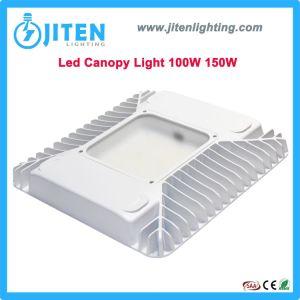 La superficie o pendular Industrial de 100W de iluminación exterior LED 150W Canopy Gasolinera Luz con sensor de microondas en el techo de la luz Highbay