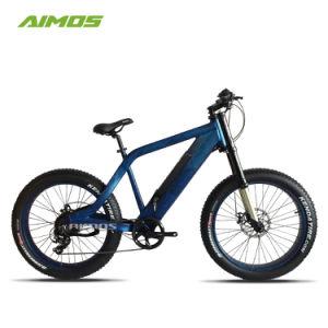 Oculto exclusivo de neumáticos de la grasa de la batería bicicleta eléctrica de 750W