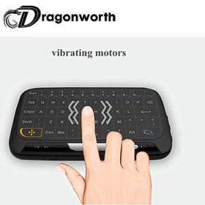 Drahtlose Maus der Luft-H18 mit Tastatur für intelligenten Fernsehapparat-Kasten