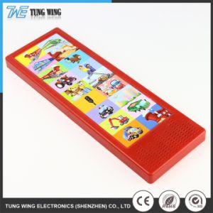 De plastic Kleurrijke Module van de Opname van de Stem van het Boek van de Muziek van Kinderen Correcte