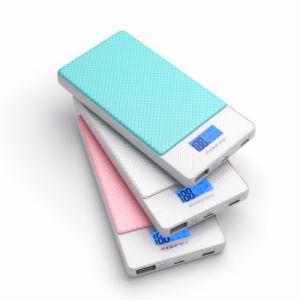 2017 neuer Pineng QC 3.0 u. Typ-c Pwer Bank Li-Polymer-Plastik Batterie 10000 Milliamperestunde Pn-993