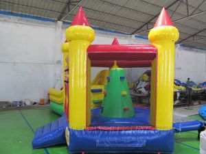 Combo de inflables juegos inflables, Inflables Bouncer diapositiva