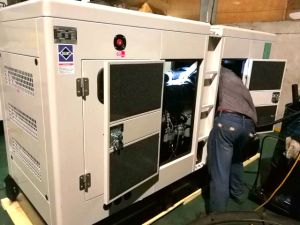 사우디 아라비아 시장을%s ATS를 가진 550kVA 60Hz Deutz 발전기