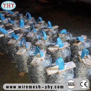 L'elettrotipia ha galvanizzato un filo d'acciaio dei 14 calibri per la rete fissa dell'azienda agricola