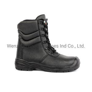 Спортивной работы защитная обувь Split тисненая кожа полиуретановая подошва со стальным носком и промежуточная подошва из черной металлургии