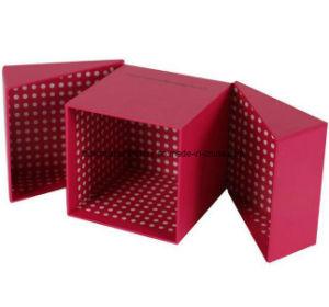 Reciclar el papel de embalaje Embalaje de regalo/Vacaciones rosa caja de papel