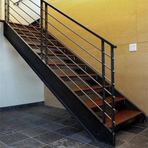 Hierro Forjado Prefabricadas Escaleras Rectas De Metal