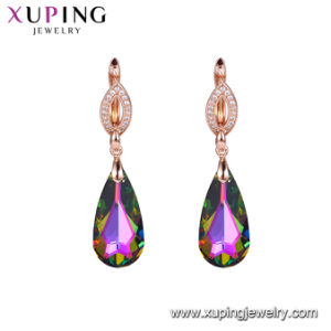 f63ada50ce11 Aretes de cobre del medio ambiente diseña joyas de cristal de Swarovski  Elements