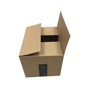 يطوي يعبّئ [3بلي] علبة صندوق مع إشارة علامة تجاريّة طباعة