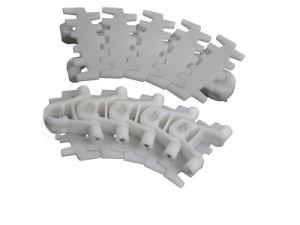 Láminas de plástico de la parte superior de la cadena transportadora Flexi