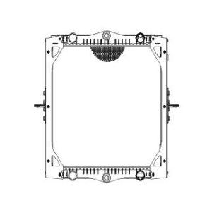 HD Chariot radiateur pour DAF LF45 01~ : 1403273 61445OEM, un